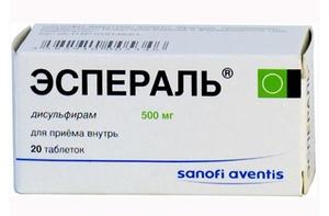 Как действует препарат эспераль