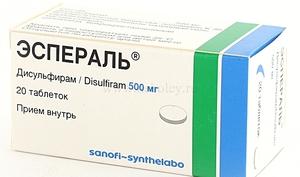 Описание препарата эспераль