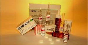 Как используется препарата эспераль